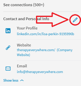 how to add linkedin icon to my website